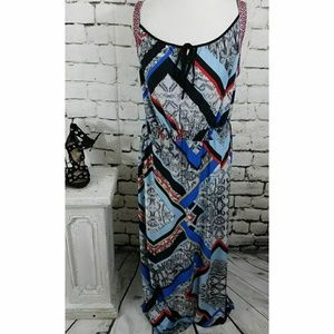 NY Collection Woman Maxi multi color dress 2X